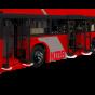 1:16 九巴B8L智能遙控積木巴士 (3542 塊)