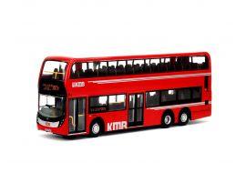 回力巴士 - 1:64 九巴 Facelift 12米 紅巴 (路線287X)