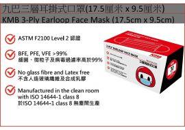 九巴口罩 - 1 盒 (30 個)