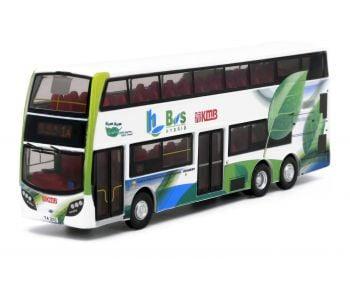 合金車仔 - 九巴ADL Enviro500 MMC Hybrid  (路線1A)