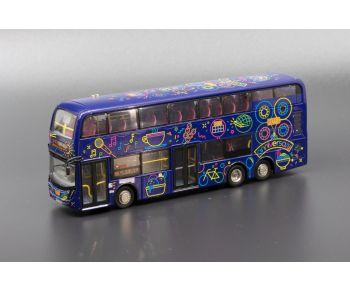 1:76 模型 - 九巴丹尼士歐盟第五代環保巴士十二米 (路線 88)