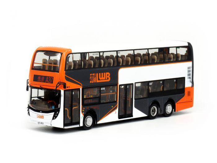1:76 模型 - 龍運丹尼士Facelift 12米巴士 (路線A37)
