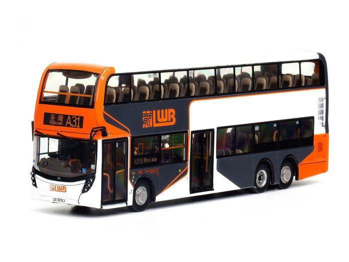 1:76 模型 - 龍運丹尼士Facelift 12.8米巴士 (路線A31)