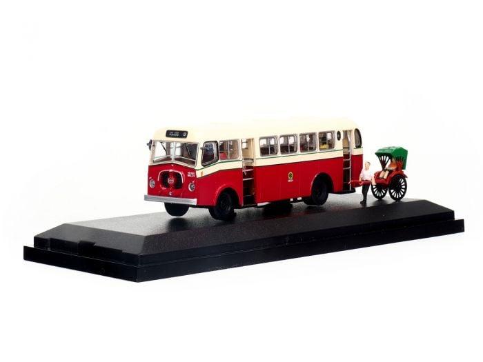 1:76 模型 - 九巴薛頓單層MK17型巴士 (路線8)