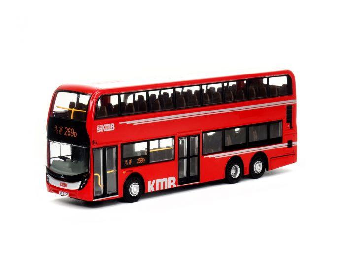 回力巴士 - 1:64 九巴 Facelift 12米 紅巴 (路線269D)