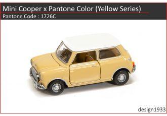 合金車仔 - Mini Cooper x Pantone Color (Code : 1726C)