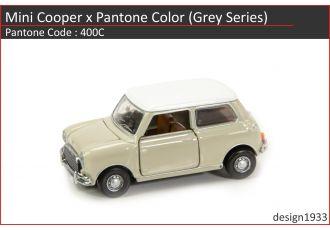 合金車仔 - Mini Cooper x Pantone Color (Code : 400C)