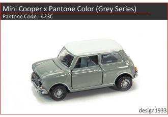合金車仔 - Mini Cooper x Pantone Color (Code : 423C)