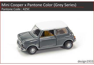 合金車仔 - Mini Cooper x Pantone Color (Code : 425C)