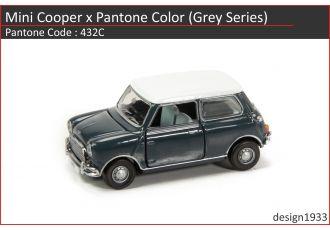 合金車仔 - Mini Cooper x Pantone Color (Code : 432C)