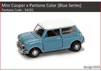合金車仔 - Mini Cooper x Pantone Color (Code : 5425C)