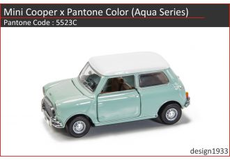 合金車仔 - Mini Cooper x Pantone Color (Code : 5523C)