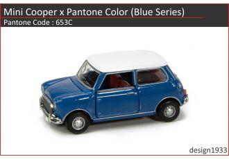 合金車仔 - Mini Cooper x Pantone Color (Code : 653C)