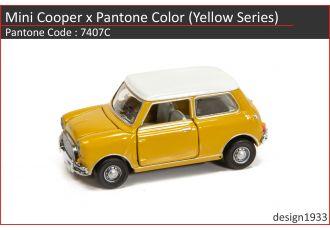合金車仔 - Mini Cooper x Pantone Color (Code : 7407C)