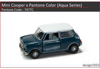 合金車仔 - Mini Cooper x Pantone Color (Code : 7477C)