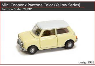 合金車仔 - Mini Cooper x Pantone Color (Code : 7499C)