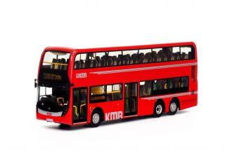1:76 模型 - 九巴Facelift 12米紅巴 (路線268X)