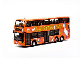 1:76 模型 - 龍運2018狗年巴士 (路線A36)