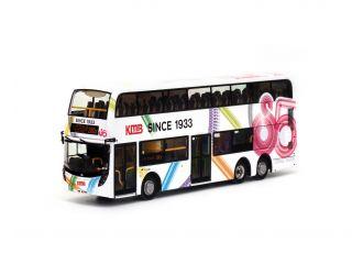 1:76 模型 - 九巴85週年丹尼士Facelift 12米巴士 (路線280X)