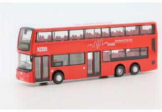 合金車仔 - 九巴丹尼士歐盟第四代環保巴士十二米 (路線 8)