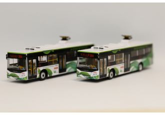 1:76 模型 - 九巴零排放超級電容巴士 (路線284 - 沙田市中心)