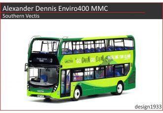 1:76 模型 - Alexander Dennis Enviro400 MMC Southern Vectis