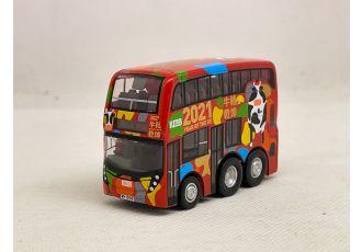Q版巴士 - 九巴丹尼士歐盟第6代環保12.8米巴士 (路線 268C)