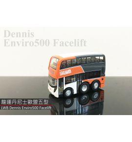 Q版巴士 - 龍運丹尼士歐盟五型巴士 (路線E34A)