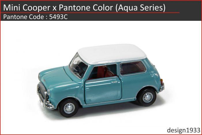 合金車仔 - Mini Cooper x Pantone Color (Code : 5493C)