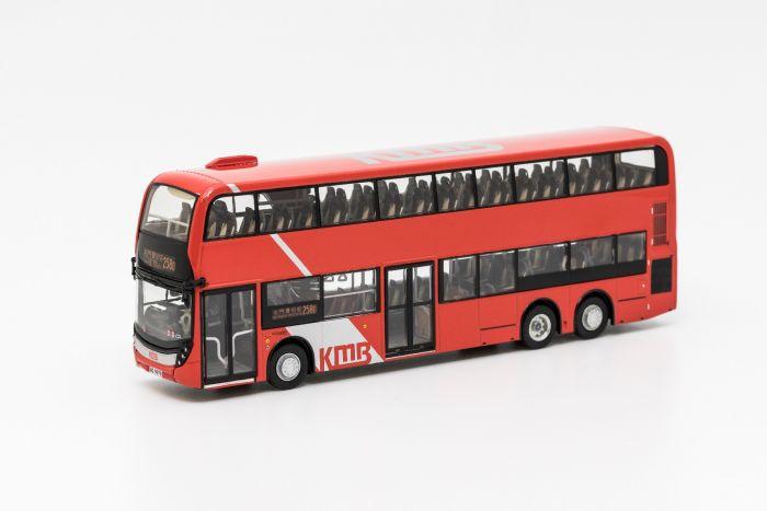 1:76 模型 - 九巴丹尼士歐盟第六代環保巴士十二點八米 (路線 258D)