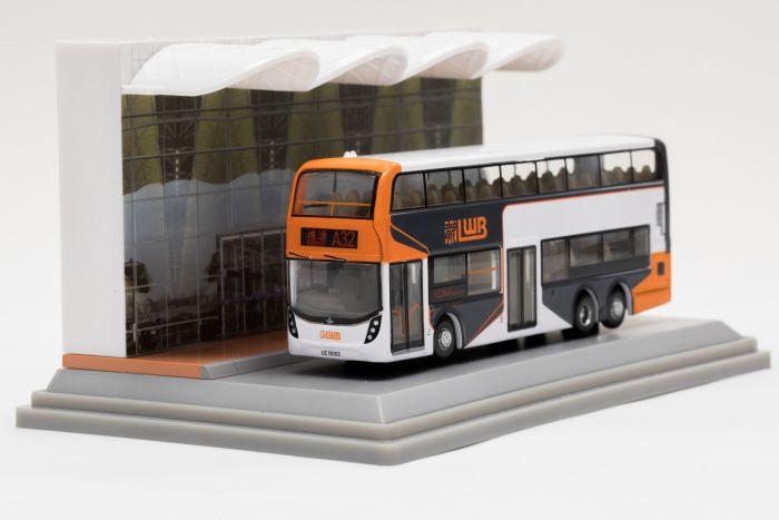 合金車仔 - 「情景模型」龍運機場巴士 (路線A32)