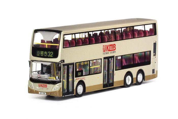 1:76 模型 - 九巴丹尼士歐盟第五代環保巴士十二米  (路線 32)