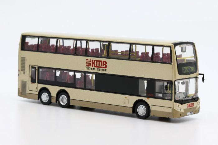 1:76 模型 - 九巴丹尼士三鋒歐盟第三代環保巴士十二米 (路線 280X)